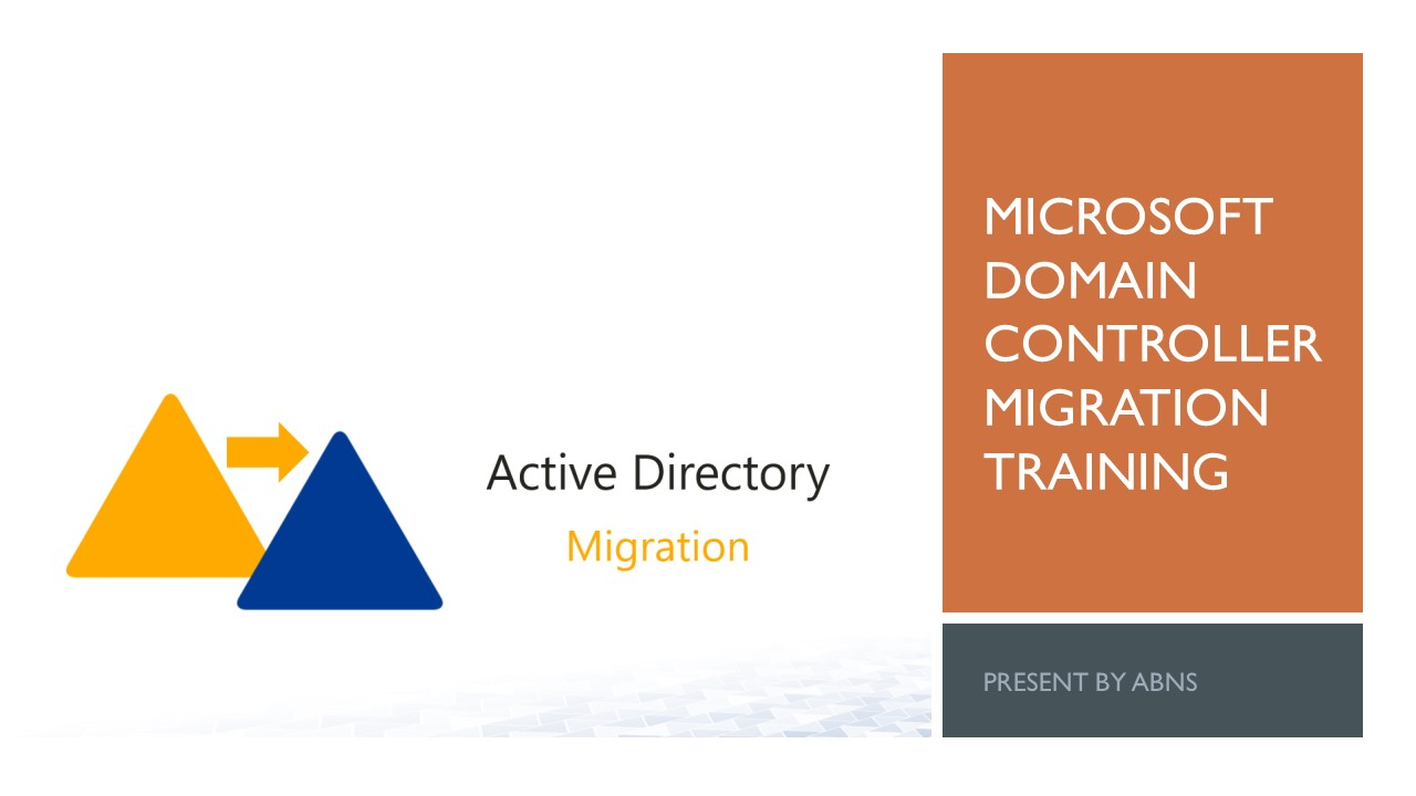 Domain Migration Training